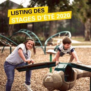 Listing de stages